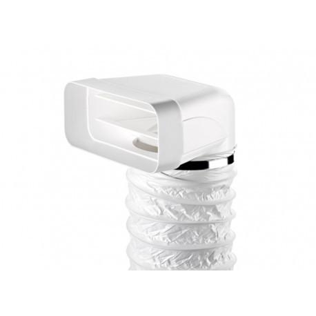 Accesorio para campana  TECSY-AIR 4043015 Serie150  Salida campana a codo mixto