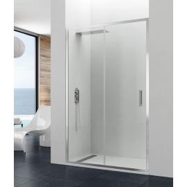 Mampara de ducha PRESTIGE TITAN 0205 frontal 1 fijo+ 1corr , transparente