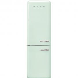 Combi  SMEG FAB32LVN1, Solo Congelador No Frost, Verde agua, Clase A++