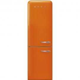 Combi SMEG FAB32LOR3,  Solo Congelador No Frost, Naranja, Clase A++