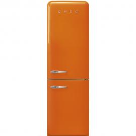 Combi SMEG FAB32ROR3,  Solo Congelador No Frost, Naranja, Clase A++