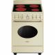 Cocina con horno eléctrico 4 zonas SMEG CO68CMP9, Crema/Beig