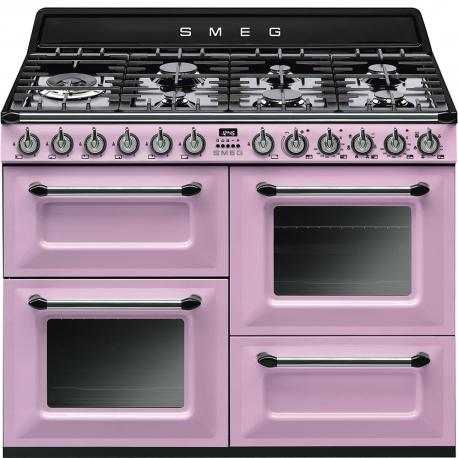 Cocina con horno eléctrico Más de 4 zonas SMEG TR4110RO, Rosa