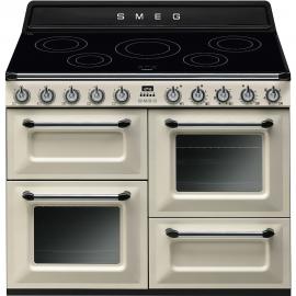 Cocina eléctrica  SMEG Kitchen TR4110IP , Más de 4 zonas, Crema,