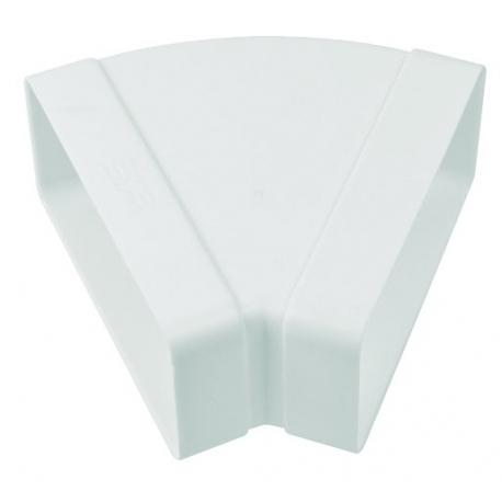 Accesorio para campana  TECSY-AIR  TEC508 SERIE OPTIMO 150 CODO 90º RECTAN. VERTICAL 220x90 mm