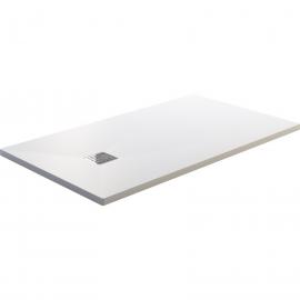 Plato de ducha RESITEC SWEET 1830, ancho de 90 cm, largo de 170 cm, en color blanco