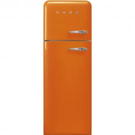 Frigorífico 2 puertas SMEG FAB30LOR3 , Cíclico, Naranja, clase energetica Clase A+++