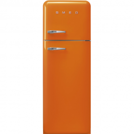 Frigorífico 2 puertas SMEG FAB30ROR3 , Cíclico, Naranja, clase energetica Clase A+++