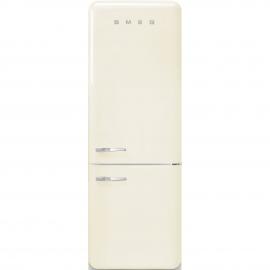 Combi  SMEG FAB38RCR , No Frost, Crema, clase energetica Clase A++