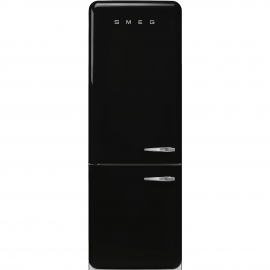 Combi  SMEG FAB38LBL , No Frost, Negro, clase energetica Clase A++