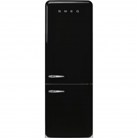 Combi  SMEG FAB38RBL , No Frost, Negro, clase energetica Clase A++