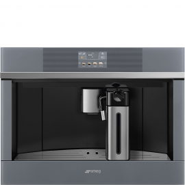 Cafetera  SMEG KITCHEN CMS4104S, Integrable, Inoxidable