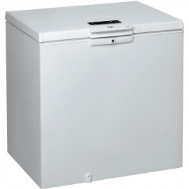 Congelador horizontal WHIRLPOL WHE2535 FO, Cíclico, Blanco, , Clase A+