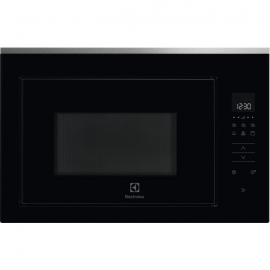 Microondas ELECTROLUX KITCHEN KMFD263TEX, Integrable, Con Grill, Negro