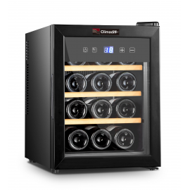 Vinoteca  CLIMADIFF CLS12H , Cíclico, Negro, Clase A