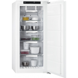 Congelador vertical AEG ABE812E6NF, No Frost, Integrable, Clase A++