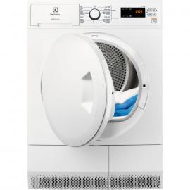 Secadora con bomba de calor ELECTROLUX EDH3684PDW, 8 Kg, Blanco, Clase A+