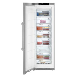 Congelador vertical LIEBHERR SGNef4335, No Frost, Inoxidable, Clase A+++