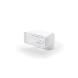 Accesorio para campana  TECSY-AIR 4043002 Serie 150 CODO MIXTO VERTICAL