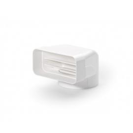 Accesorio para campana  TECSY-AIR 4033010 Serie 125 CODO MIXTO VERTICAL