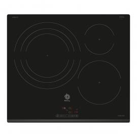 BALAY, 3EB967FR, Encimera, Inducción, Encastrable, 60 cm, 3, Bisel delantero, 60 cm, control táctil de fácil uso, 3 zonas, z